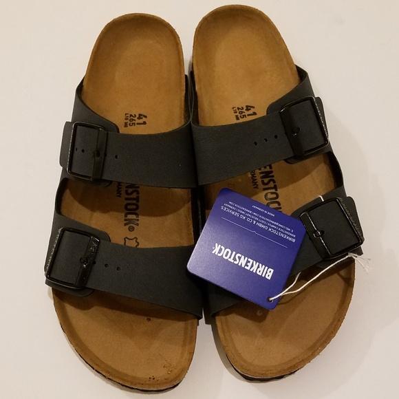 b5881a47 Birkenstock Shoes | New Arizona Basalt Gray Sandals 41 | Poshmark